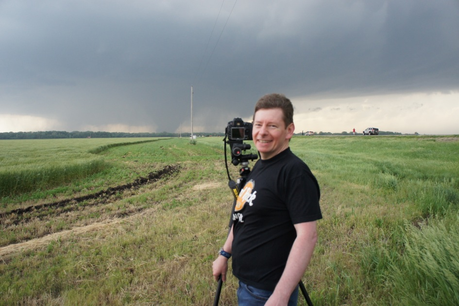 One of my guests enjoying a Tornado.