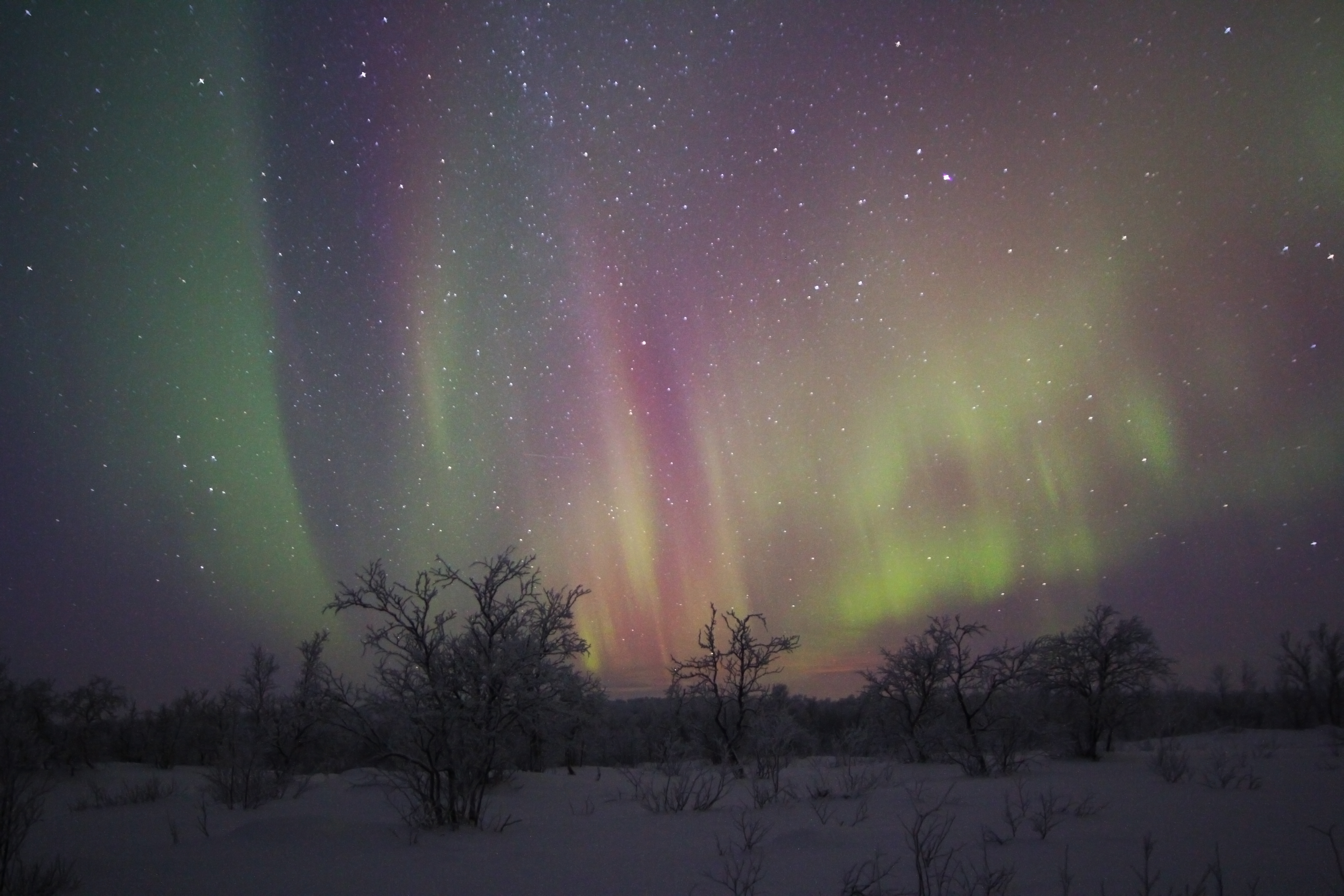 Every year the Aurora looks different. This was from 2012.